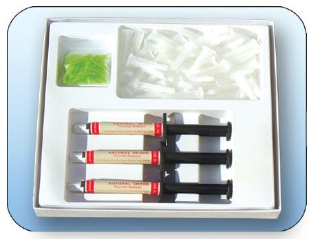 Eagle- Dual-Cured Core Build-Up Material in Auto-Mix Cartridges